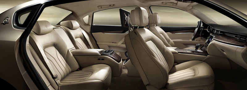 Foto Interiores Maserati Quattroporte Sedan 2012
