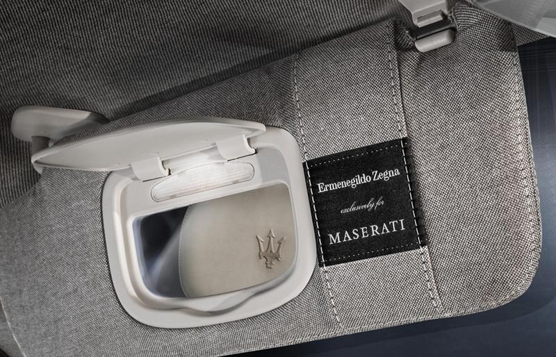 Foto Interiores Maserati Quattroporte Ermenegildo Zegna Limited Sedan 2013