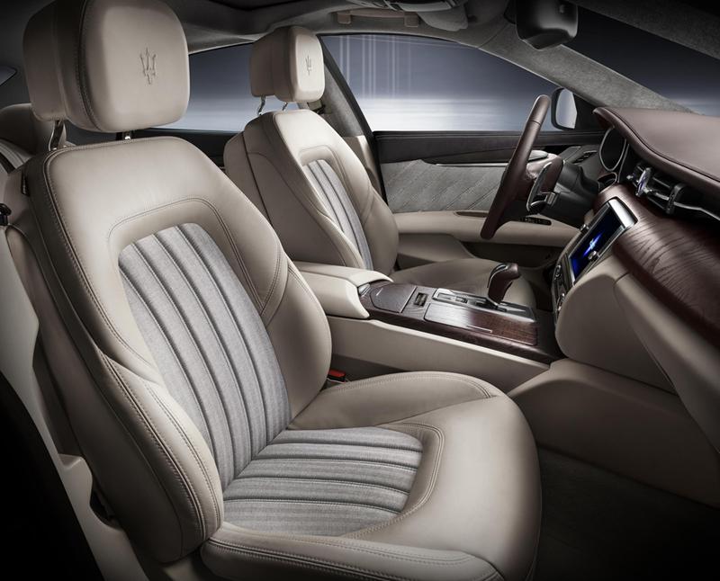 Foto Salpicadero Maserati Quattroporte Ermenegildo Zegna Limited Sedan 2013
