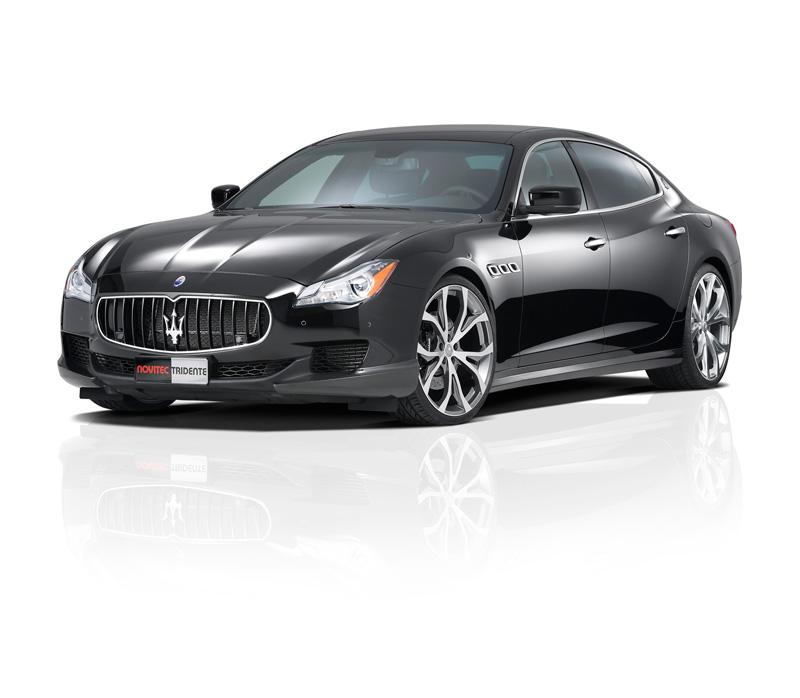 Foto Delantera Maserati Quattroporte Novitec Tridente Sedan 2014