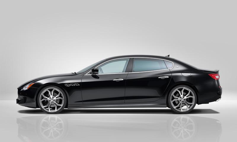 Foto Exteriores Maserati Quattroporte Novitec Tridente Sedan 2014