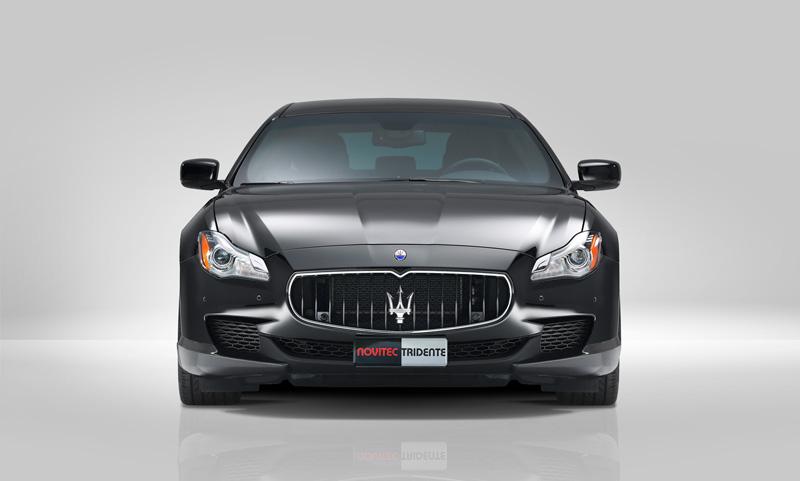 Foto Frontal Maserati Quattroporte Novitec Tridente Sedan 2014
