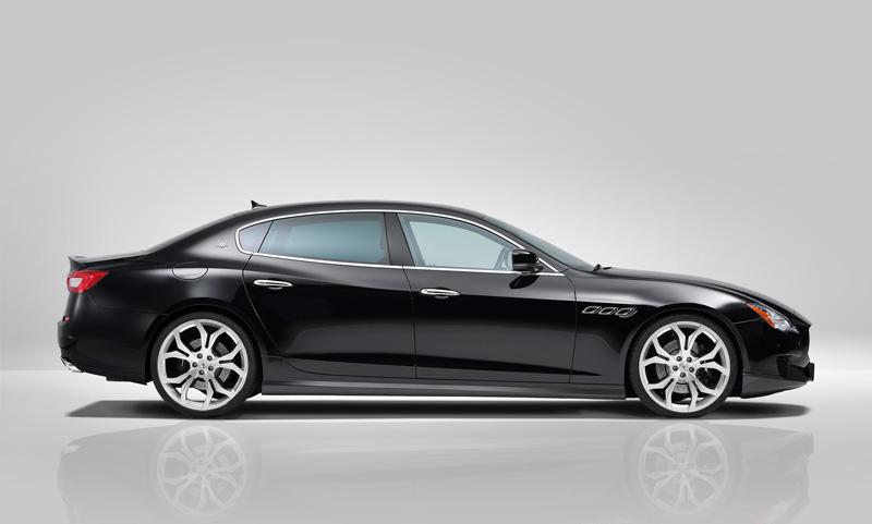 Foto Perfil Maserati Quattroporte Novitec Tridente Sedan 2014