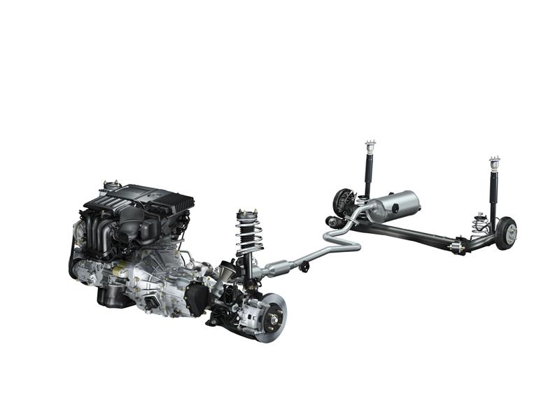 Foto Tecnicas Mazda 2 Dos Volumenes 2010