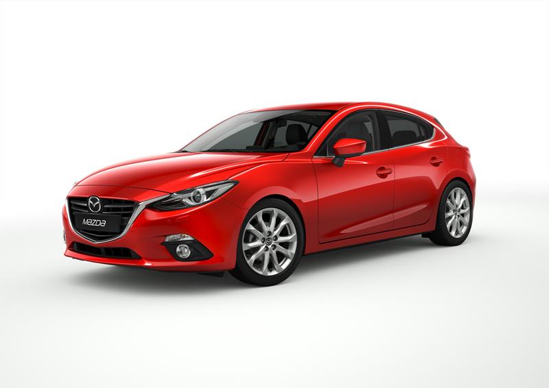 Foto Perfil Mazda 3 Dos Volumenes 2013