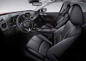 Foto Interiores 1 Mazda 3 Dos Volumenes 2017