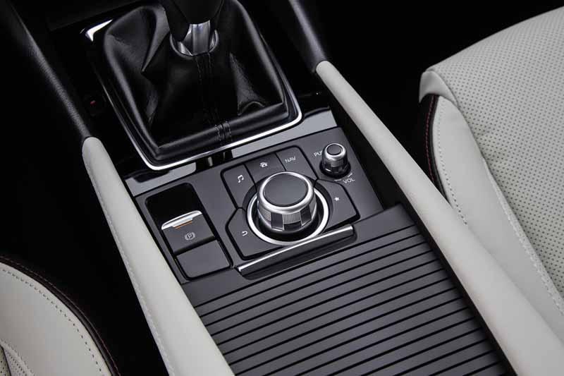 Foto Interiores Mazda 3 Sedan 2017