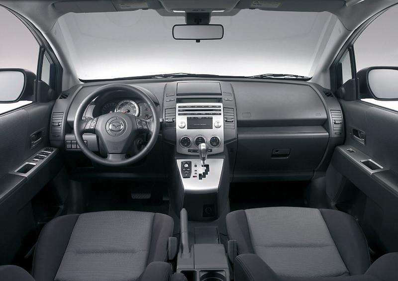 Foto Salpicadero Mazda 5 Monovolumen 2006