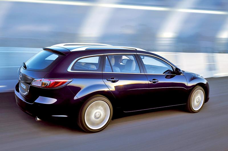 Foto Trasero Mazda 6 Familiar 2006