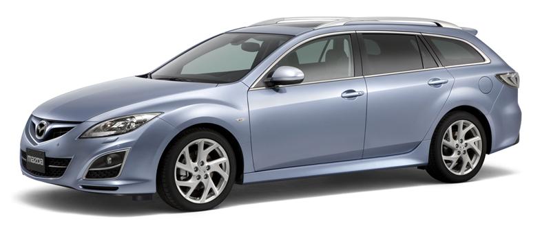 Foto Delantero Mazda 6 Familiar 2010
