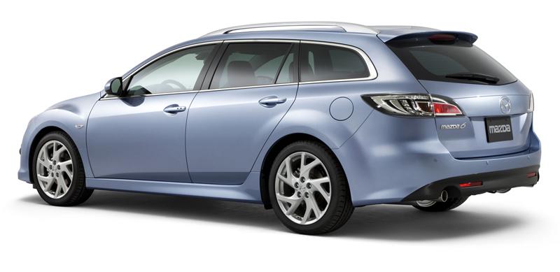 Foto Trasero Mazda 6 Familiar 2010