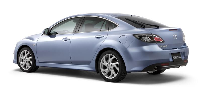 Foto Trasero Mazda 6 Sedan 2010