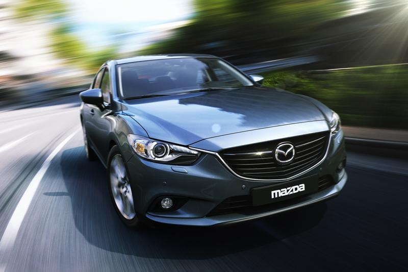 Foto Delantera Mazda 6 Sedan 2012