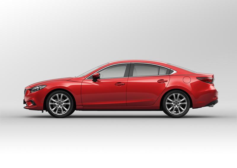 Foto Lateral Mazda 6 Sedan 2012