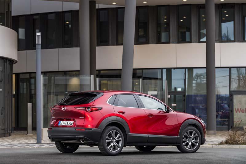 Foto Exteriores Mazda Cx 30 E Skyactiv X Suv Todocamino 2021