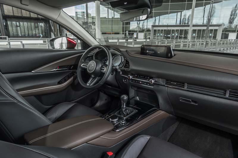 Foto Interiores Mazda Cx 30 E Skyactiv X Suv Todocamino 2021
