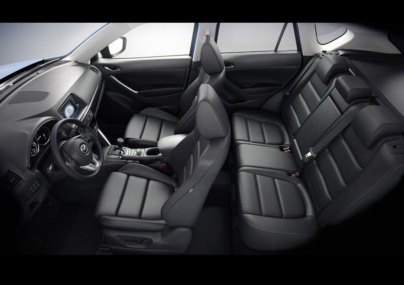 Foto Interiores Mazda Cx 5 Dos Volumenes 2011