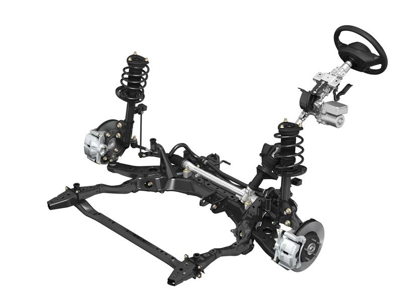 Mazda CX-5 suspensiones