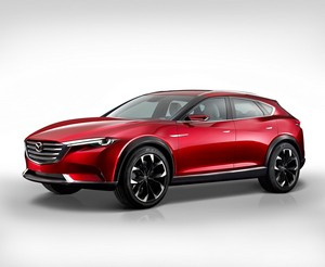 Foto Exteriores 2 Mazda Koeru Concept 2015