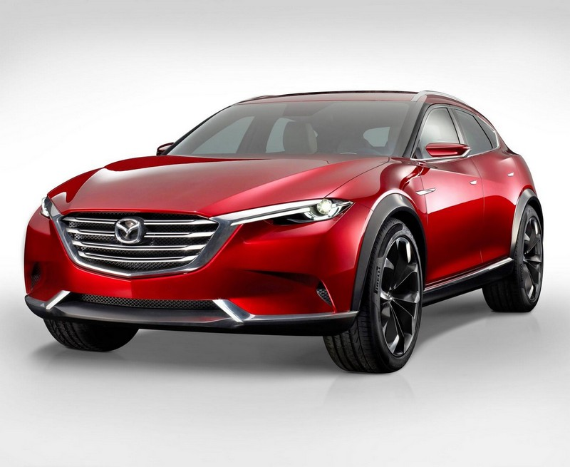 Foto Delantera Mazda Koeru Concept 2015