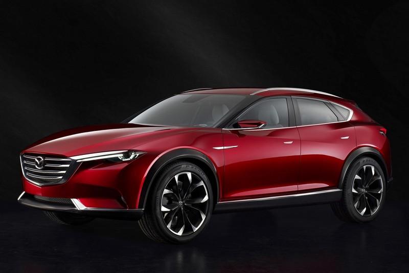 Foto Exteriores Mazda Koeru Concept 2015