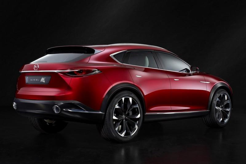 Foto Trasera Mazda Koeru Concept 2015