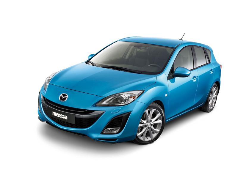 Foto Delantera Mazda Mazda3 Dos Volumenes 2010