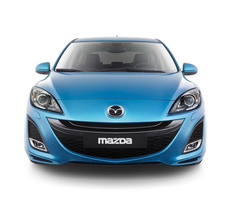 Foto Frontal Mazda Mazda3 Dos Volumenes 2010