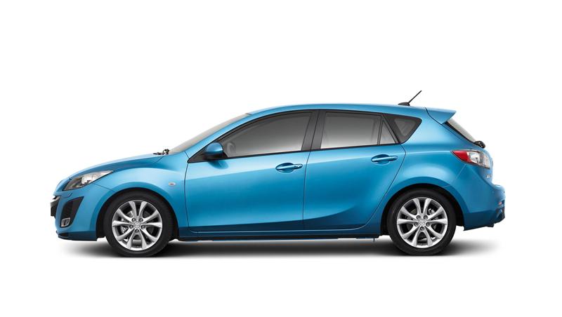 Foto Perfil Mazda Mazda3 Dos Volumenes 2010