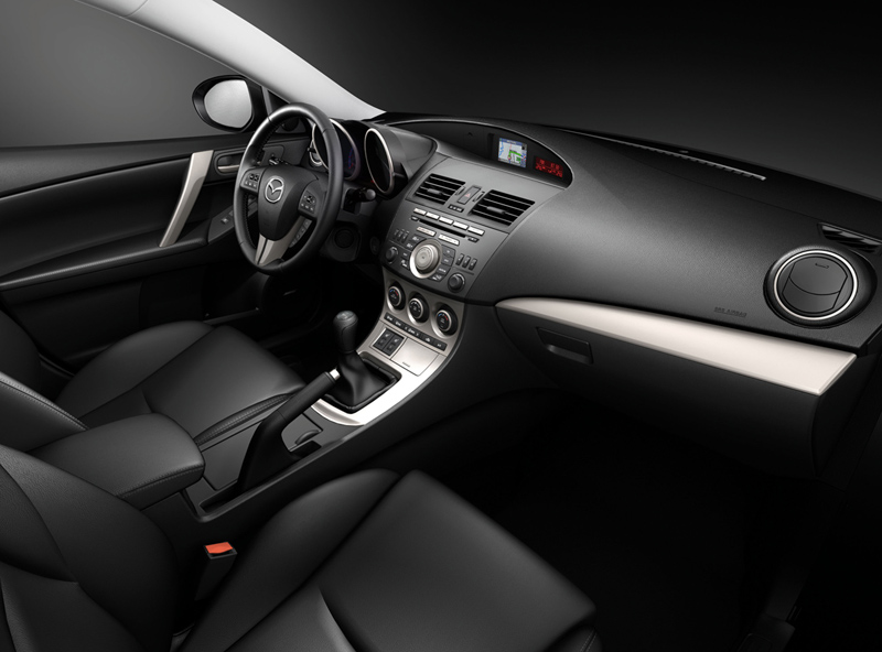 Foto Salpicadero Mazda Mazda3 Dos Volumenes 2010