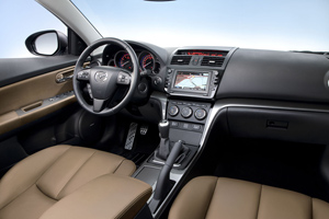 Foto Interiores Mazda Mazda6 Familiar 2010