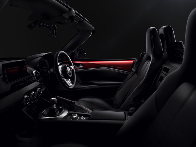 Foto Interior Mazda Mx 5 Descapotable 2015