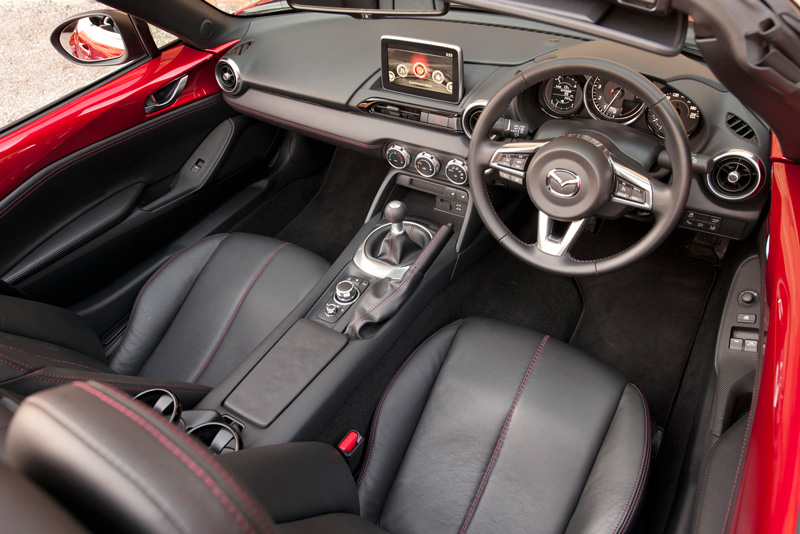 Foto Interiores Mazda Mx 5 Descapotable 2015