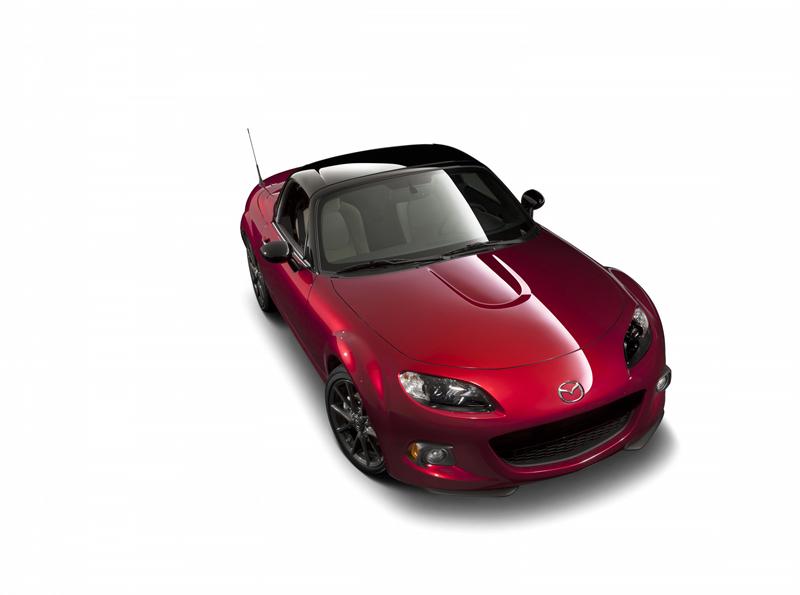 Foto Delantera Mazda Mx 5 25aniversario Descapotable 2014