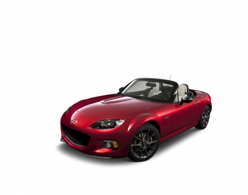Foto Perfil Mazda Mx 5 25aniversario Descapotable 2014