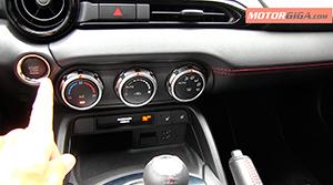 Foto Boton Arranque Mazda Mx-5-prueba Descapotable 2016