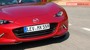 Foto Detalle Frontal Mazda Mx-5-prueba Descapotable 2016