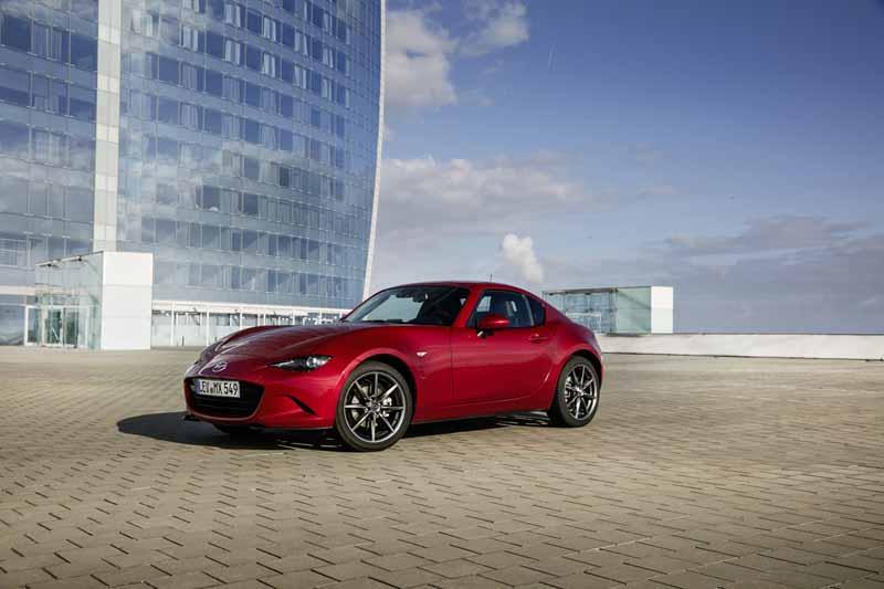 Foto Delantera Mazda Mx 5 Rf Descapotable 2016
