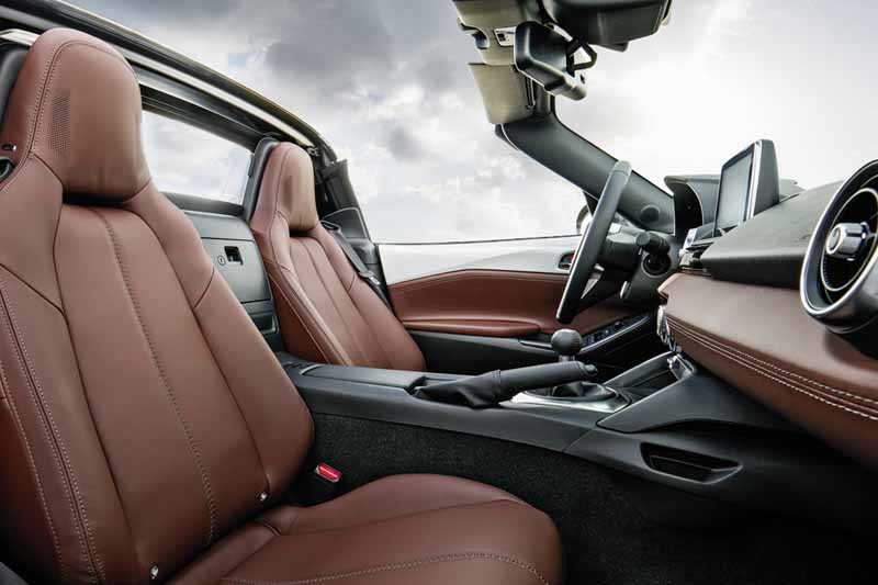 Foto Interiores Mazda Mx 5 Rf Descapotable 2016