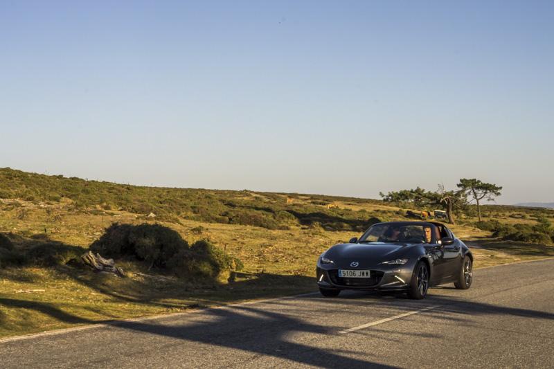 Foto Prueba Mazda Mx 5 Rf 160 Miata!! Mazda Mx 5 Rf Prueba Descapotable 2017