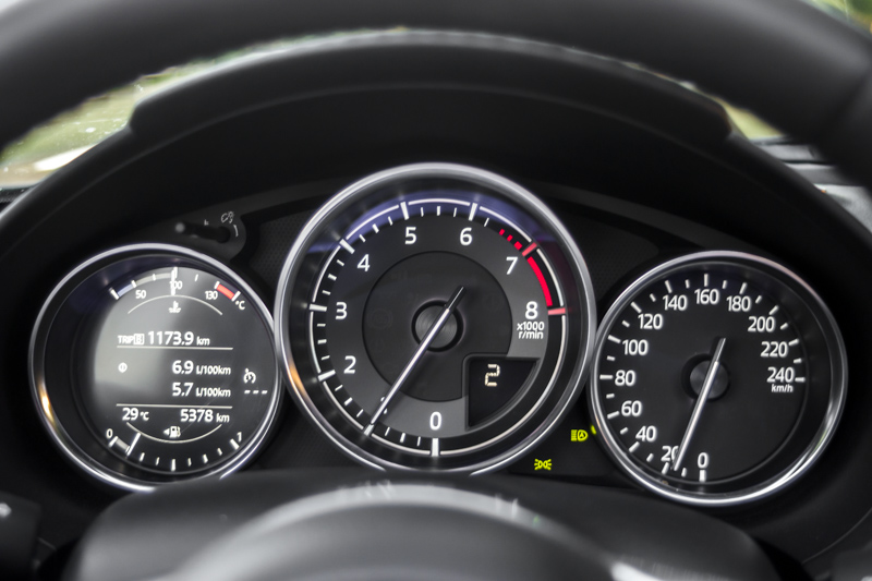 Foto Prueba Relojes Mazda Mx 5 Rf 160 Miata!! Mazda Mx 5 Rf Prueba Descapotable 2017