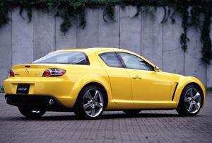 Foto Trasero Mazda Rx 8 Cupe 2006