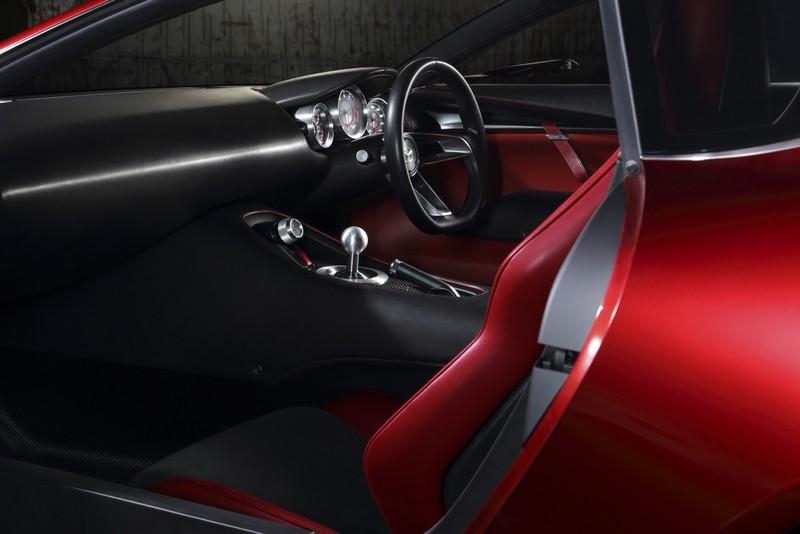 Foto Interiores Mazda Rx Vision Concept Concept 2015