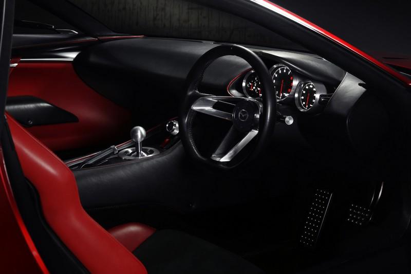 Foto Salpicadero Mazda Rx Vision Concept Concept 2015