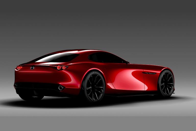 Foto Trasera Mazda Rx Vision Concept Concept 2015