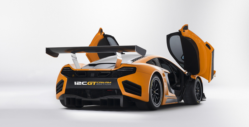 Foto Exteriores Mclaren 12c Can Am Edition Cupe 2012