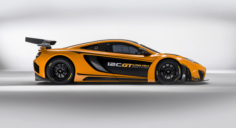 Foto Lateral Mclaren 12c Can Am Edition Cupe 2012