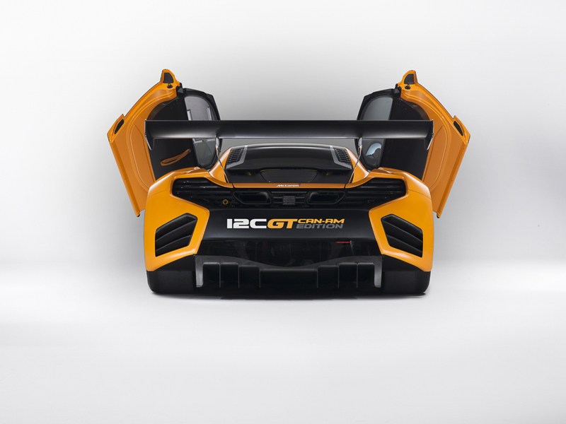 Foto Trasera Mclaren 12c Can Am Edition Cupe 2012