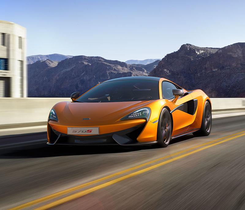 McLaren 570S Cupe