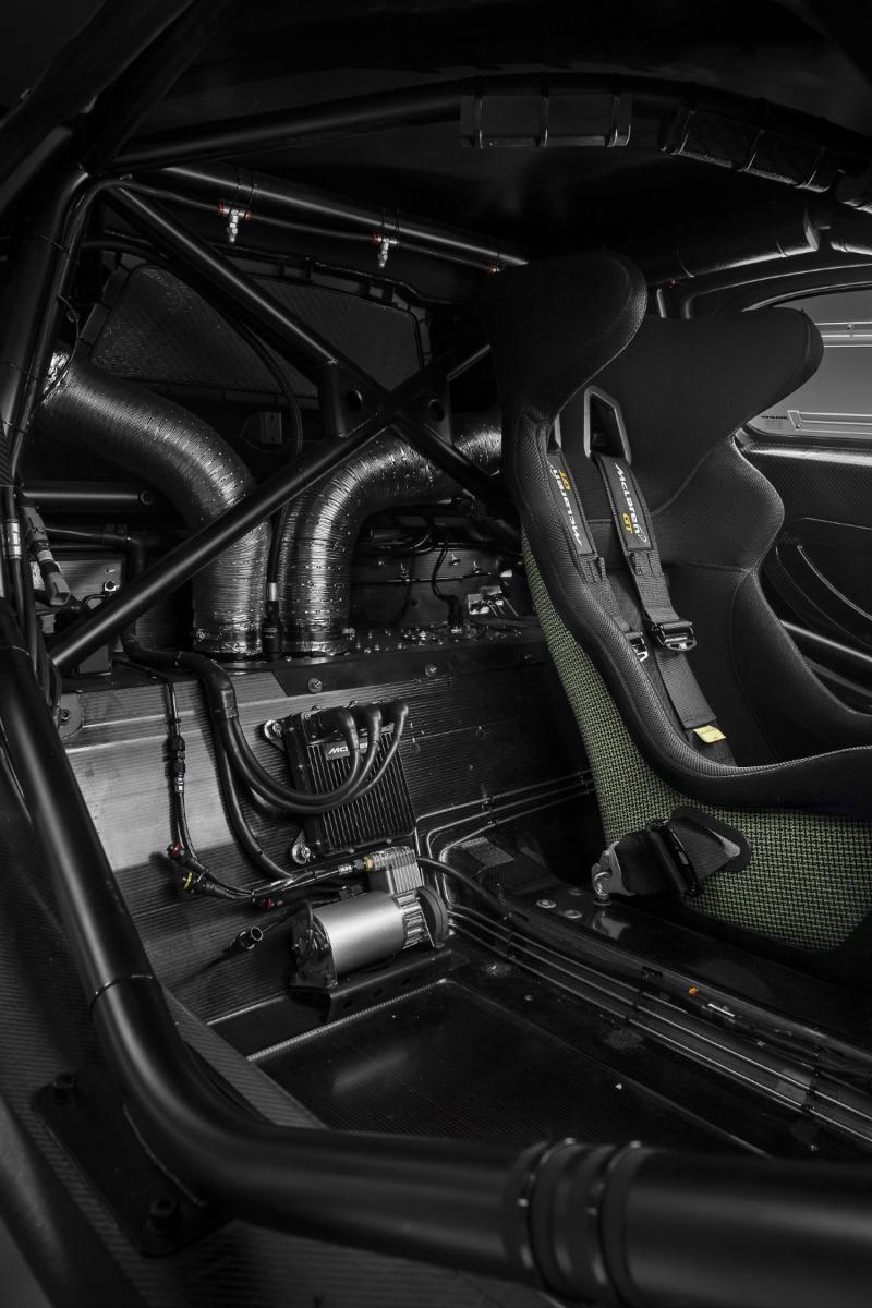Foto Interiores Mclaren 650s Gt3 Cupe 2016